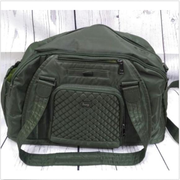 lug Handbags - Lug Propeller Gym   Overnight Bag Olive Green Gym 96cfc712c4f56